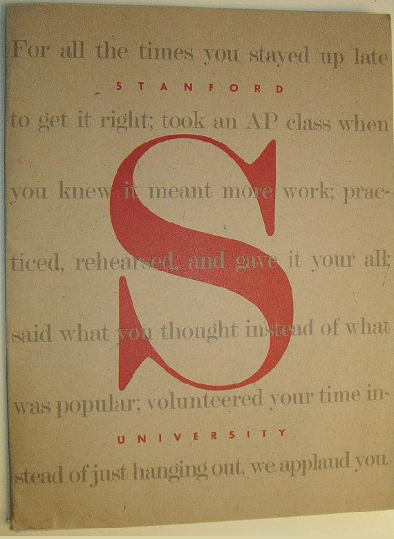 admission the prologue to the adventure that is stanford